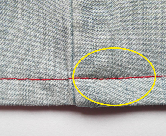How to sew over bulky seams, sewing over thick seam, bulkiness